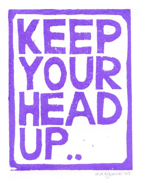 Keep your head up by Mangomini