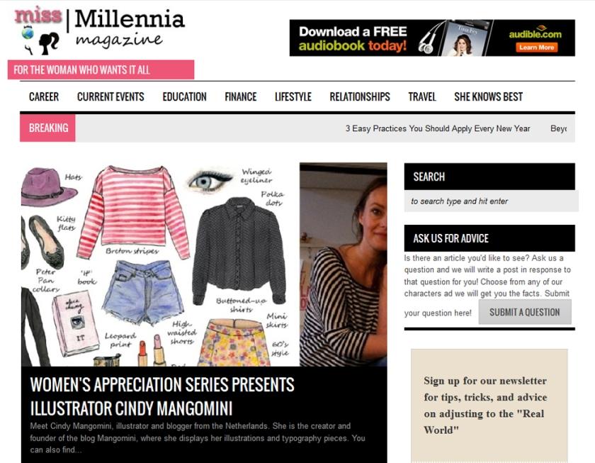 Miss Millenia Magazine