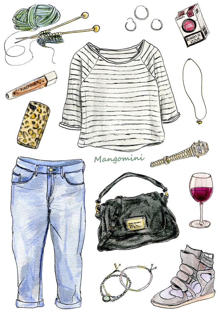 What Rinke wore by Mangomini