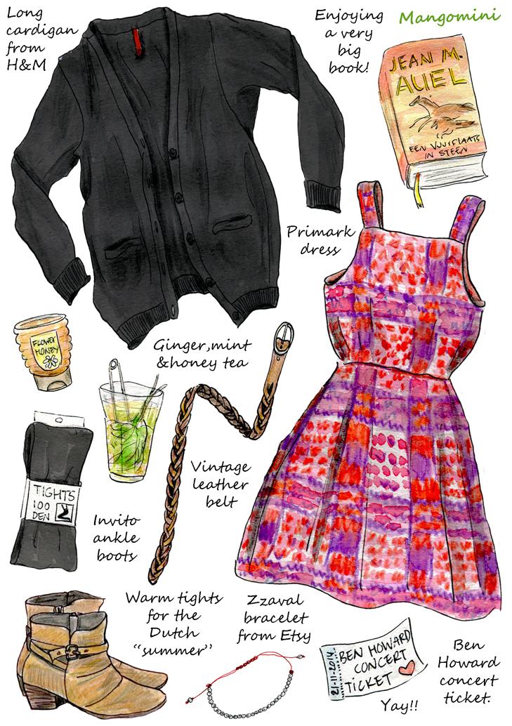 """Lucky dress"" Mangomini"