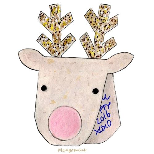 Reindeer card - Cindy Mangomini web
