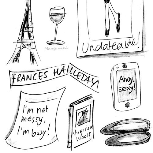 Frances Ha sketches by Cindy Mangomini