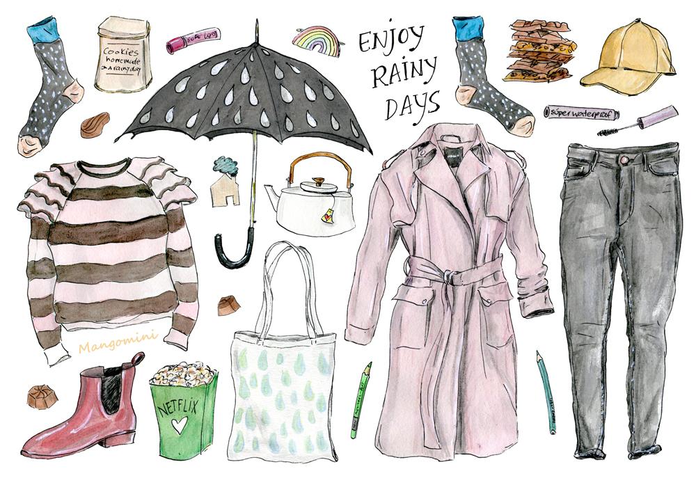 2017 week 11 Rainy Days - Cindy Mangomini