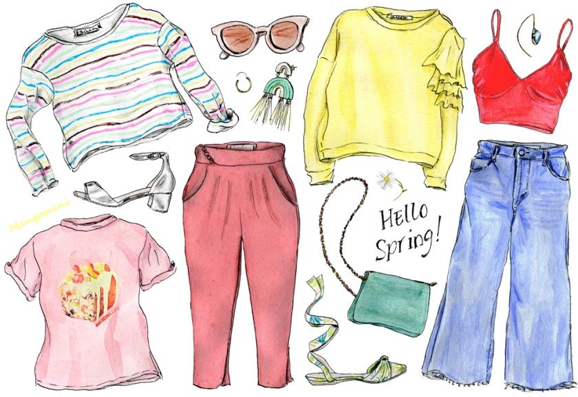 2017 week 12 Spring Wardrobe - Cindy Mangomini