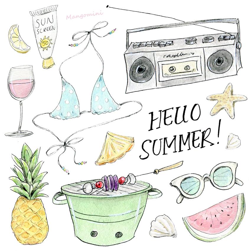 Hello Summer Mangomini low
