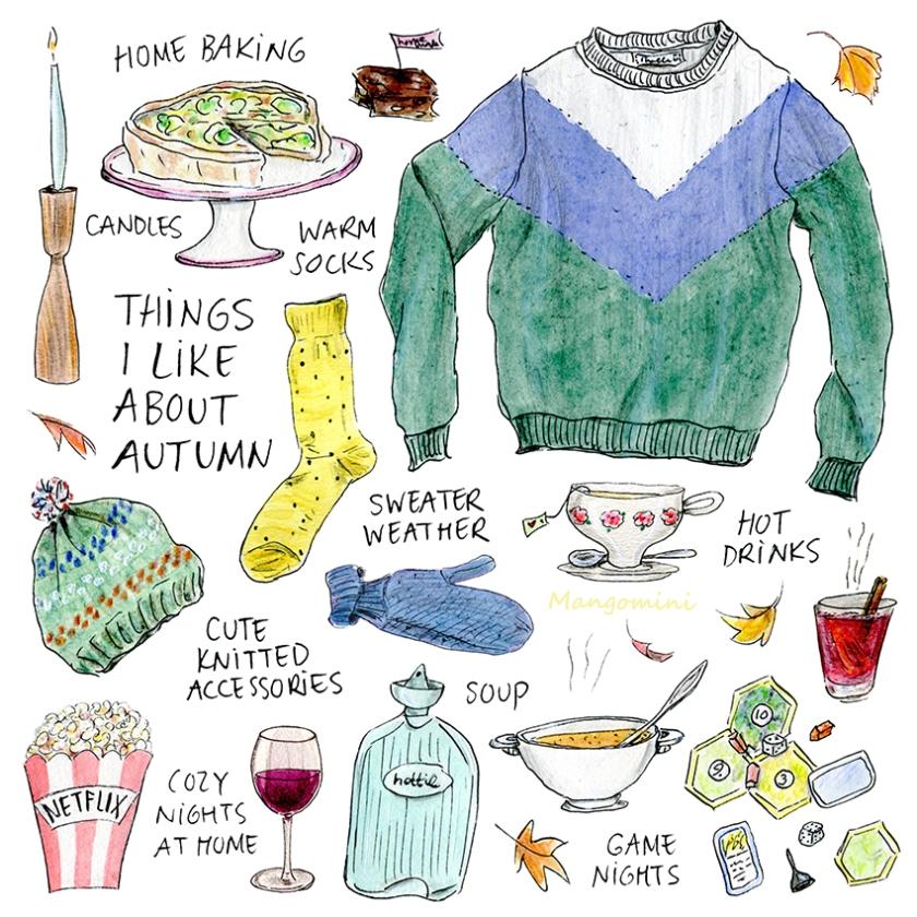 2018 10 Things I like about autumn Mangomini