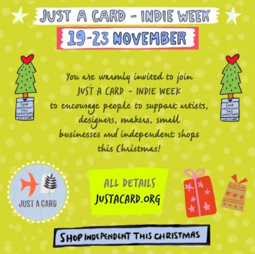 indie week just a card