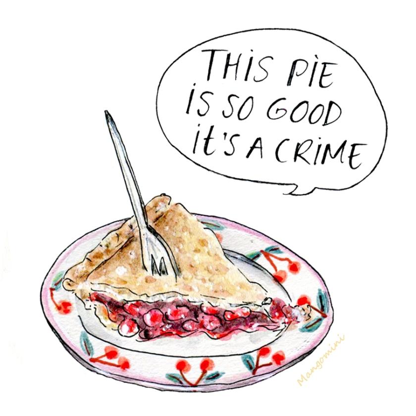 Cherry Pie Day3 Mangomini