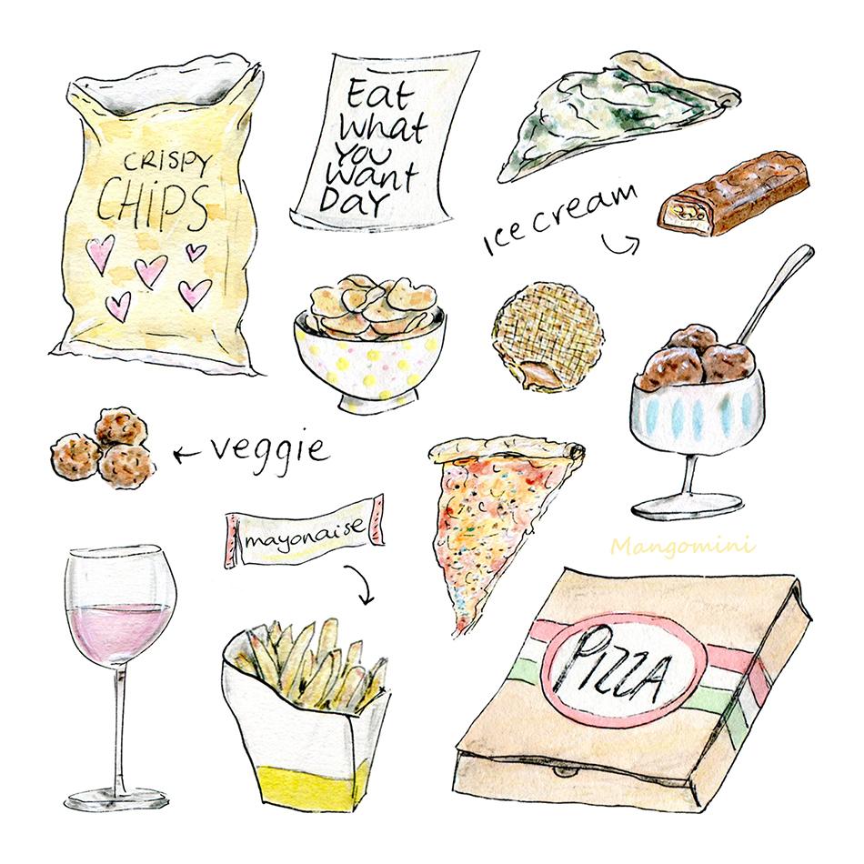 Eat what you want day Mangomini