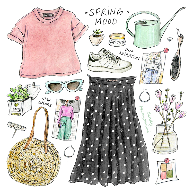 2021 Spring Mood Mangomini