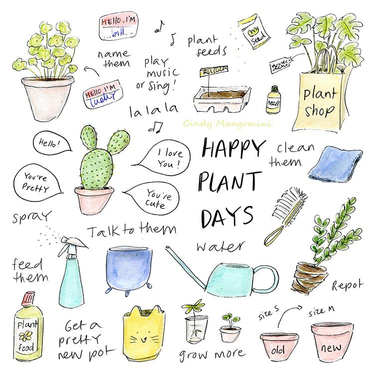 2021 Happy Plant Days Mangomini